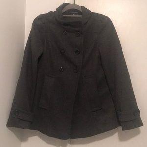 Jackets & Blazers - Gray Double Breasted Pea Coat 🧥
